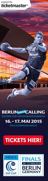 Karten für Final4 im EHF-Pokal 2015 in Berlin