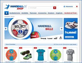 Der Online-Shop von Handball.de