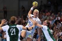 Maura Visser wird verletzungsbedingt nicht beim Pokalspiel in Owschlag dabei...