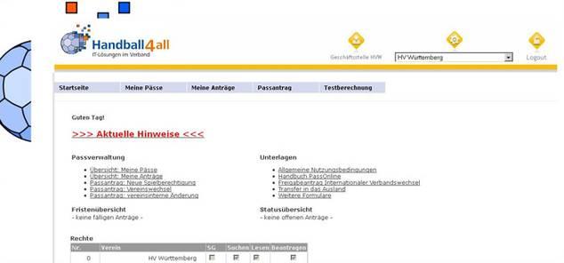 PassOnline: Passanträge für Vereine, Verwaltung der Pässe,...