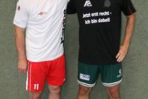 Mit Torwart Pavol Niroda (r.) hat ASG-Cheftrainer Sascha Bertow seinen...