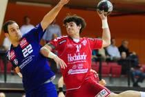Nico Kiener (re.) spielt seine letzte Saison für die SG H2Ku Herrenberg