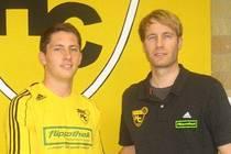 Paul-Marten Seekamp (links) mit Oliver Kirch