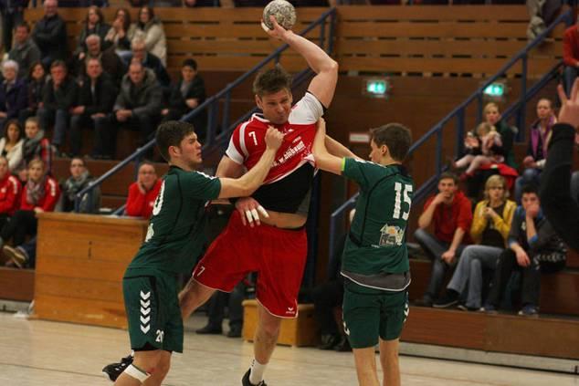 Aaron Ziercke im Spiel gegen den TSV GWD Minden III am vergangenen Wochenende