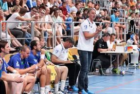 Christian Gaudin (Trainer HSV Hamburg)