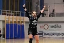 Karolina Kudlacz schaut wie alle HCL-Fans am morgigen Dienstag nach Wien zur...