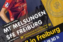 Bundesligahandball in Freiburg am 19.7.