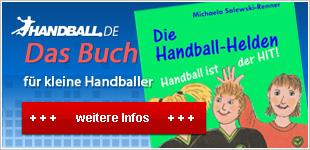 "Handball-Buch für Kinder ""Die Handball-Helden"""