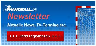 Der HANDBALL.DE-Newsletter