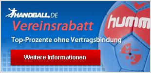 Vereinsrabatt für Handballvereine im Shop von Handball.de