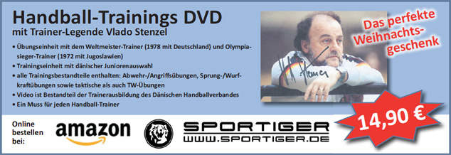 Handball-Trainings DVD mit Vlado Stenzel